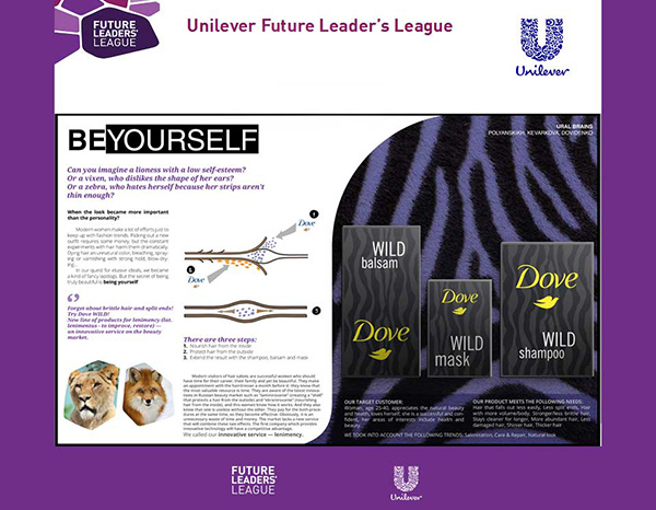Презентация, Решение кейса для Dove / Unilever Future Leader's League by StasDoDesign #StasDoDesign